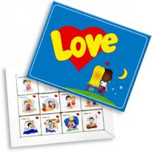 "Шоколадный набор ""Love is"" 60 г"